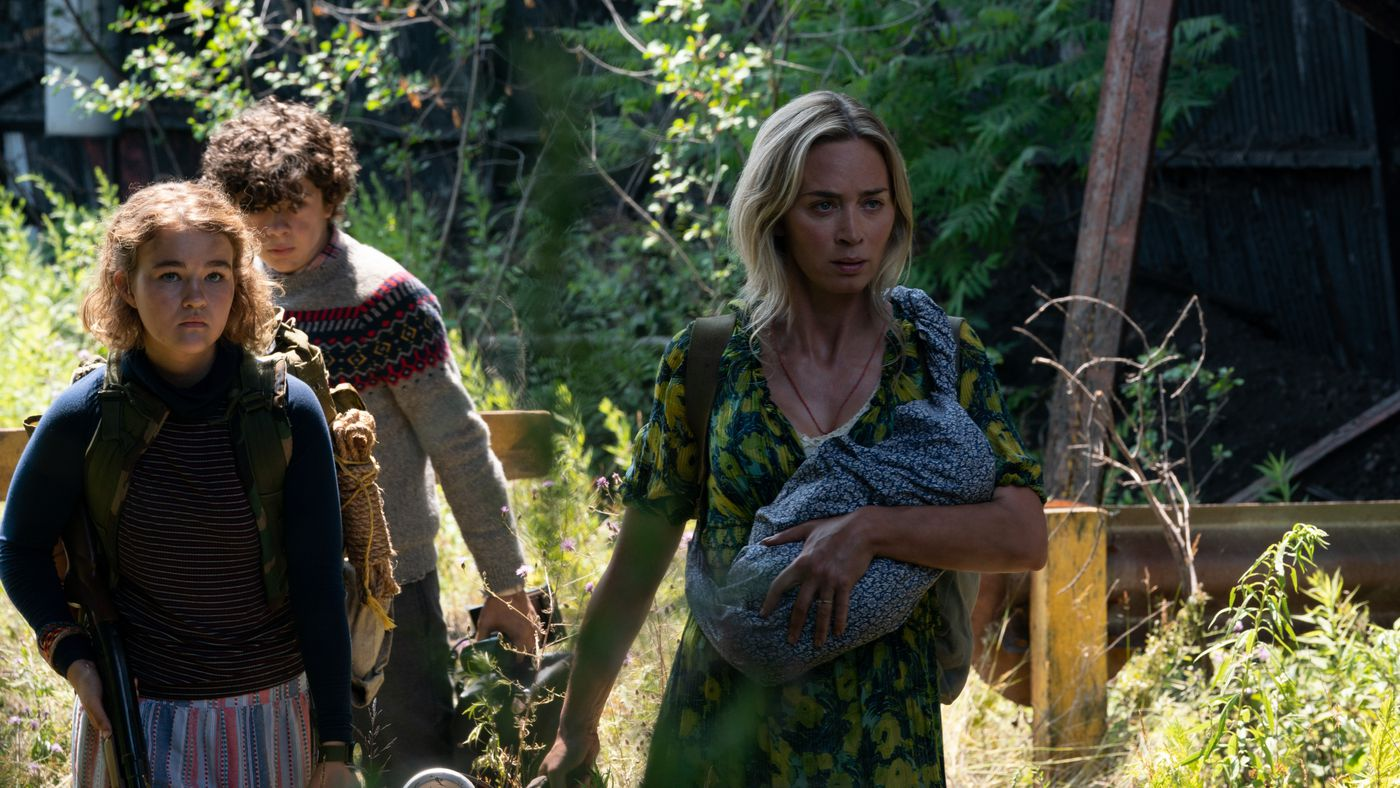 Film Review of A Quiet Place Part 2 starring Emily Blunt, Millicent Simmonds, Noah Jupe and Cillian Murphy.