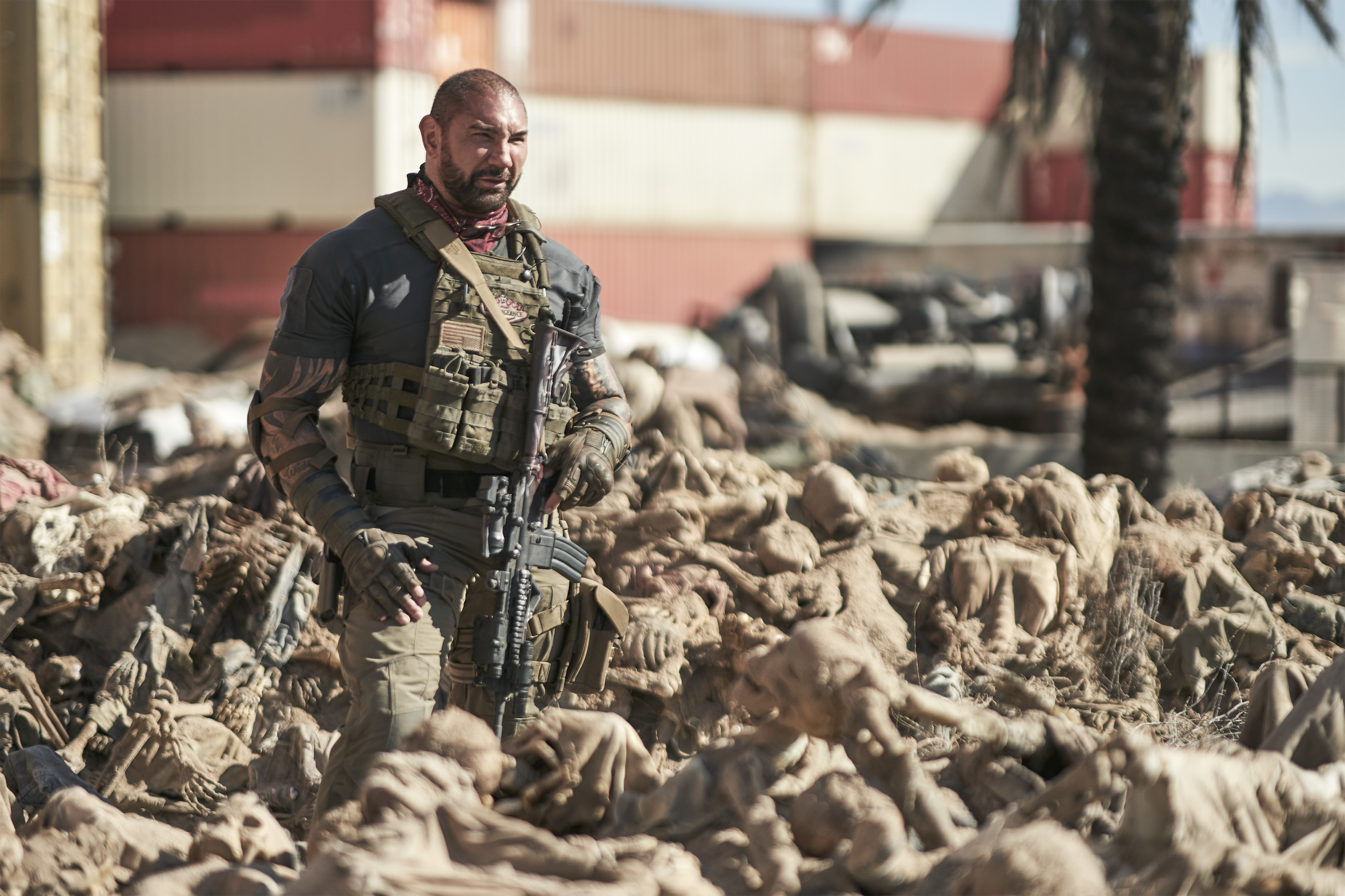 Film Review of Army of the Dead starring Dave Bautista as Scott Ward