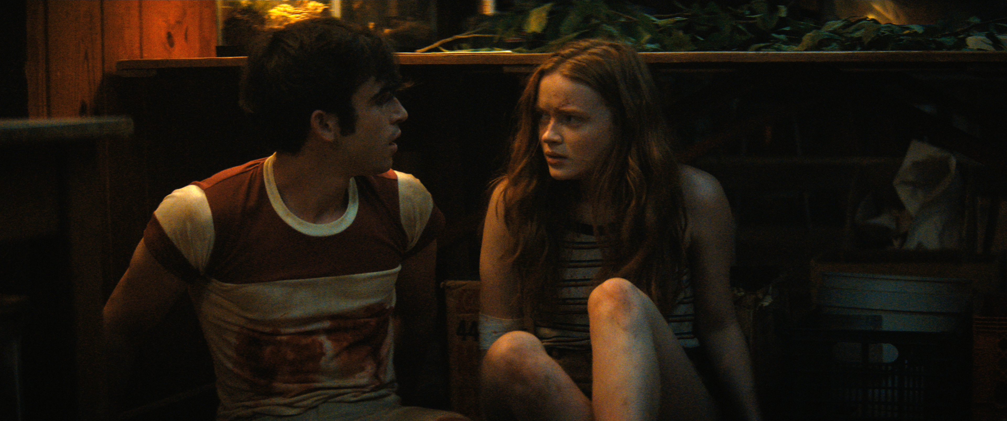 Film Review - Fear Street Part 2 1978 - Ted Sutherland and Sadie Sink