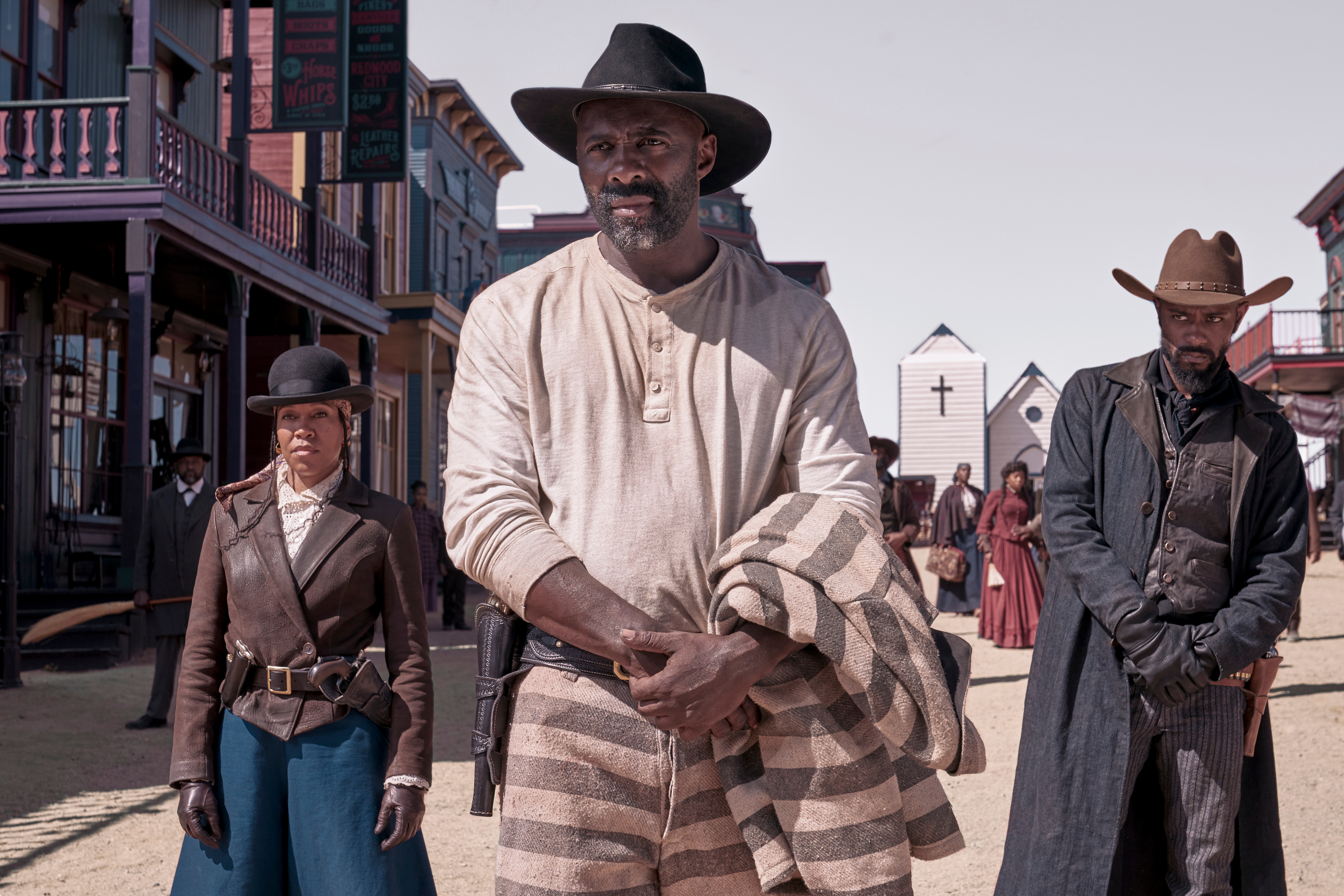 Netflix have released the official trailer for the upcoming western drama The Harder They Fall.