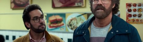 Apple have released the official trailer for the upcoming dark comedy miniseries The Shrink Next Door.